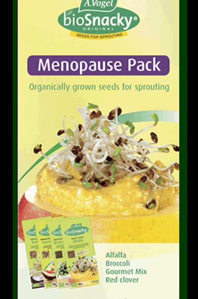 BioSnacky Menopause Pack Seeds 4 packs 140g
