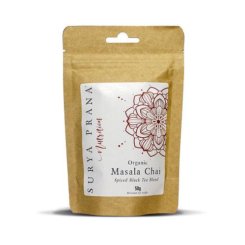Surya Prana Nutrition Organic Masala Chai Tea 50g
