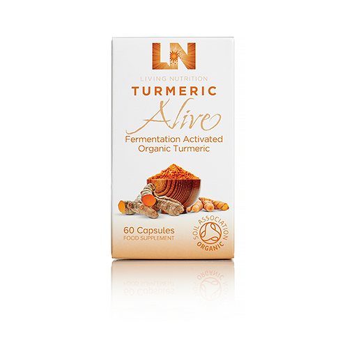 Living Nutrition Turmeric Alive 60's (Currently Unavailable)