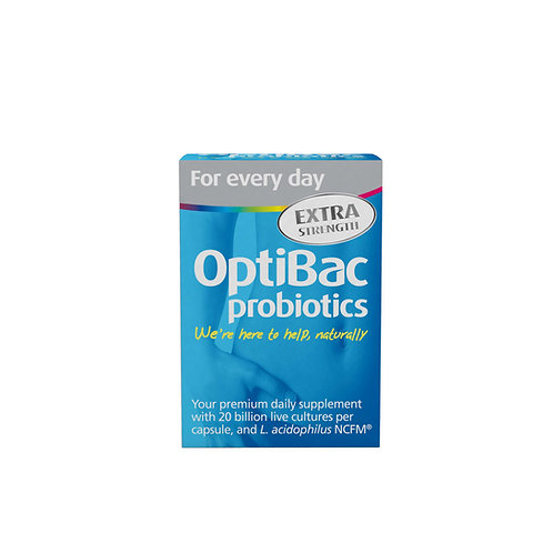 Optibac Probiotics For Every Day EXTRA (Daily Wellbeing EXTRA) 30's