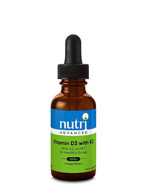 Nutri Advanced Vitamin D3 with K2 30ml