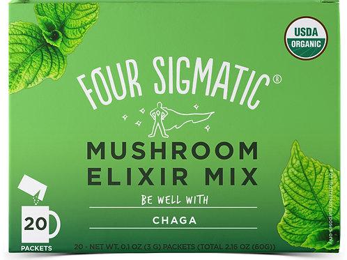 Four Sigmatic Mushroom Elixir Mix With Chaga (Defend) 20 x 3g