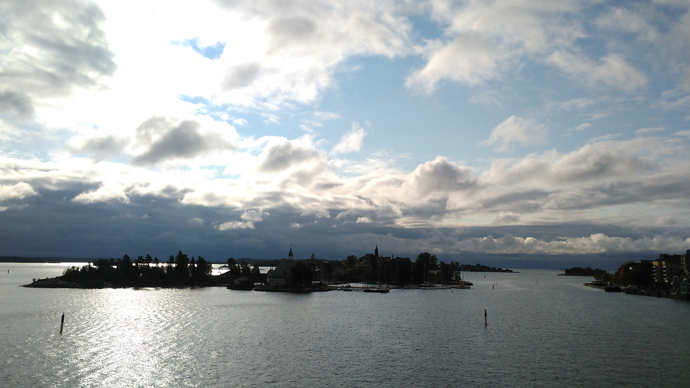 Helsinki arrival
