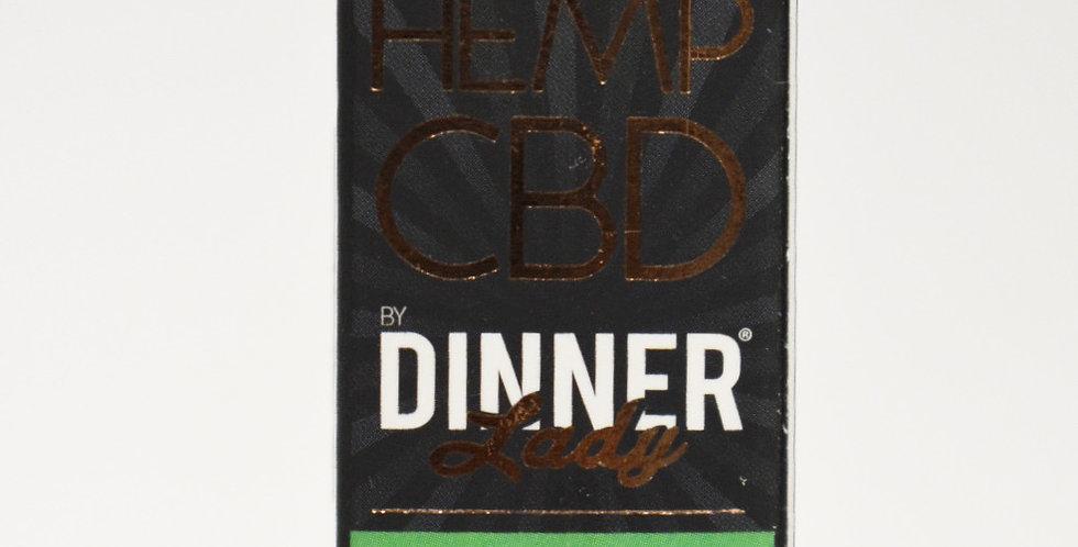 Dinner Lady CBD Vape E-liquid 10ml. 250mg CBD e-liquid strength