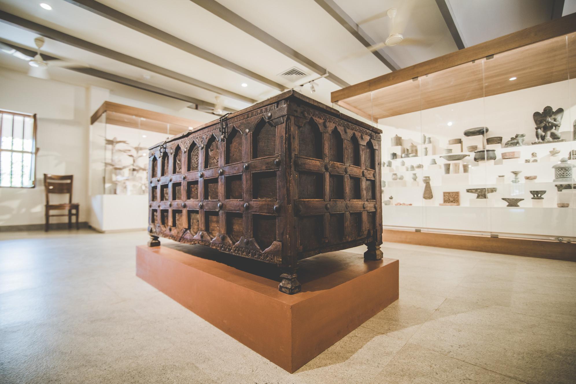 Wood gallery, Odisha Crafts Museum