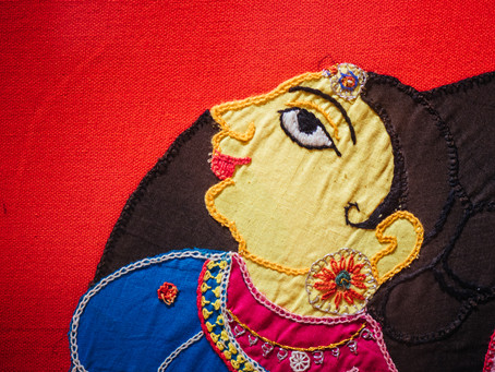 Applique Work Workshop - 17 June 2018