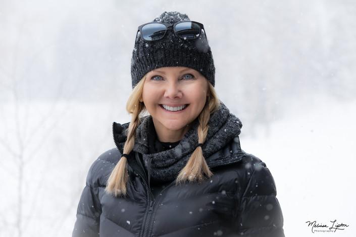 Terri in the Snow Again