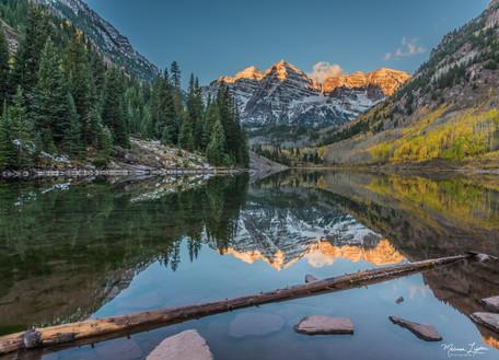 Maroon Lake Sunrise