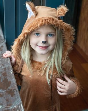 Girl Halloween Fox