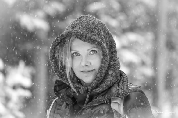 Terri in the Snow