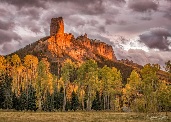Chimney Rock Aglow