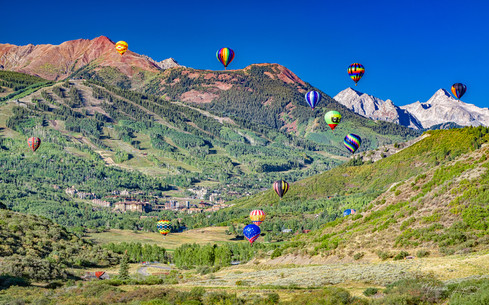 Soaring over Snowmass