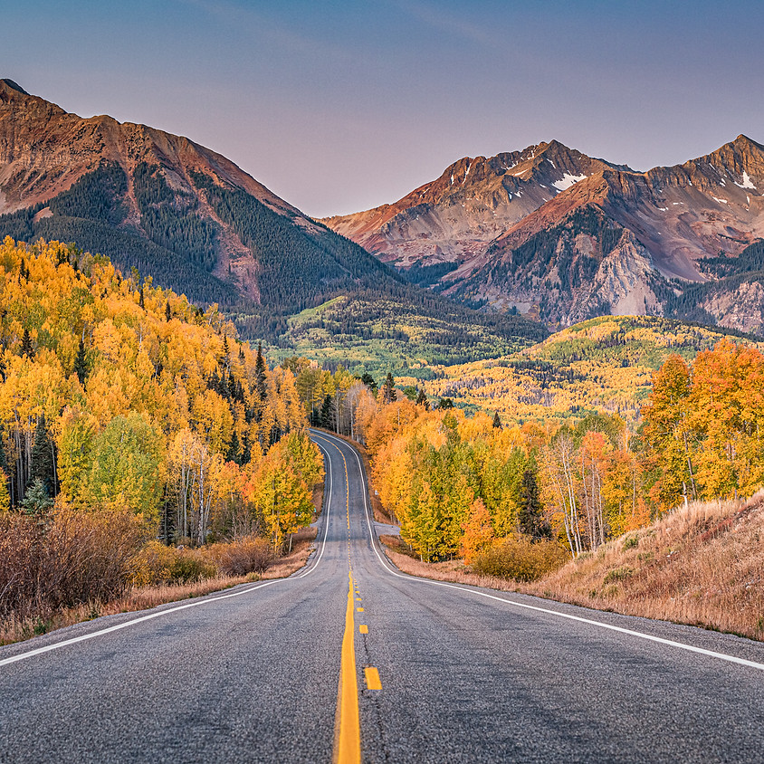 October 2021 Fall Color Photo Workshop and Tour in Telluride & Ridgway, Colorado