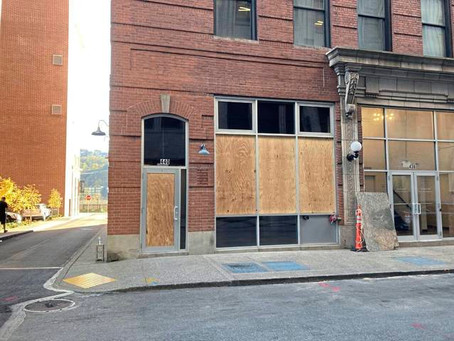 African American-owned art gallery Blaqk House Collections in Pittsburgh vandalized