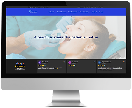 Dental website - TNC desktop mockup.png