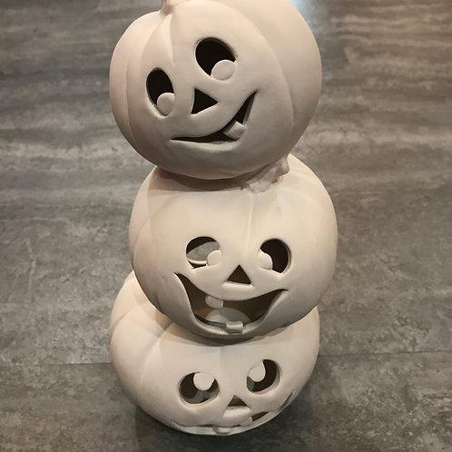 Pumpkins Stack, 10-inch (Light-up)