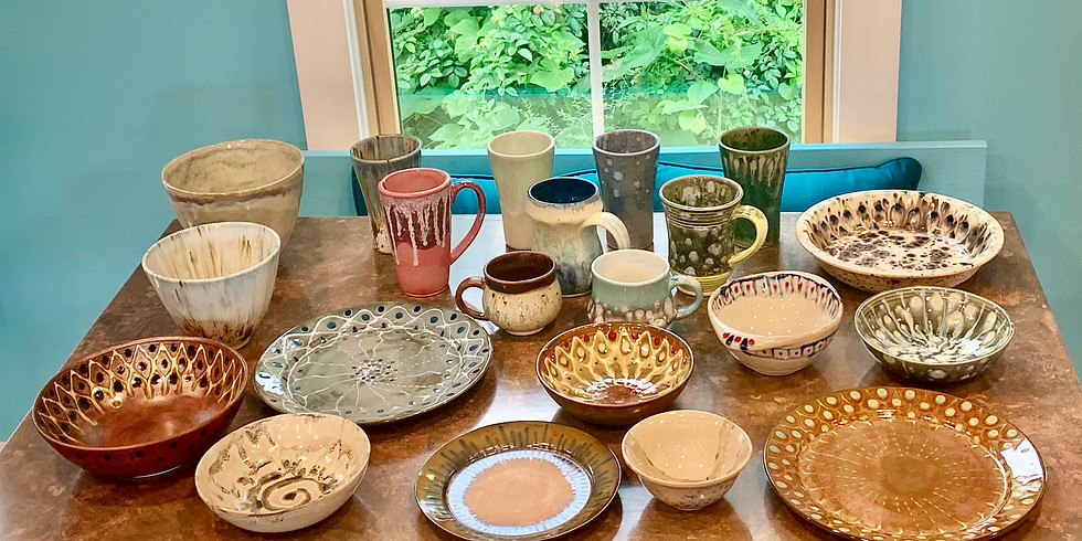 Stoneware Painting Class: Paint What You Want!