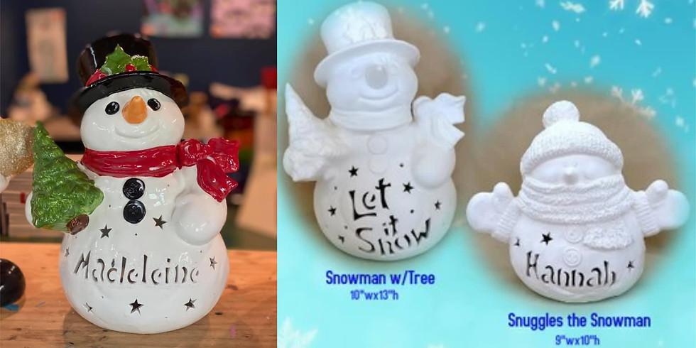 PRE-ORDER Deadline 11/8: Custom Snowman