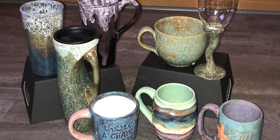 Ladies Night:  Fun with Pottery Glazes!