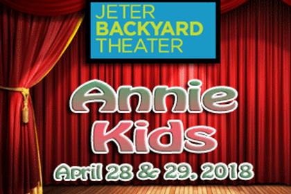 JBT-Annie Kids April 28 & 29, 2018