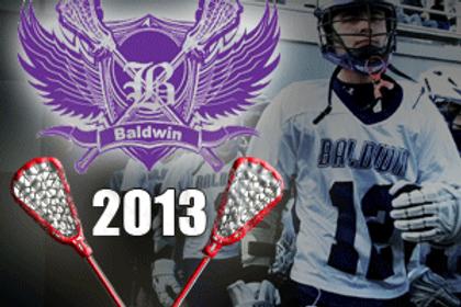 Baldwin Lacrosse vs N. Hills 3/22/13
