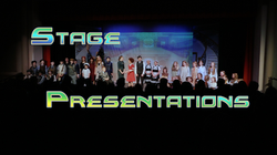 stage presentations