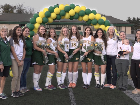 Penn Trafford Field Hockey Team Wins against Latrobe on Senior Night!