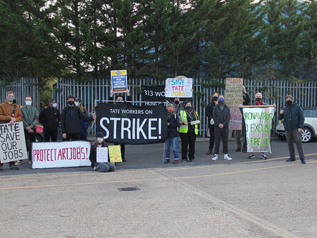 Day 40 - Distribution Centre Protest