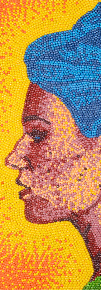 Skittle Self Portrait