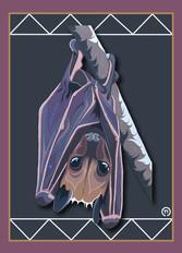 Bat Note Card