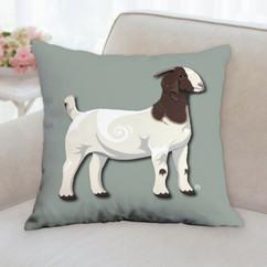 Boer Goat Pillow