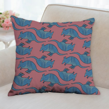 Armadillo Pattern Pillow