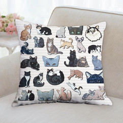 All Cats Pillow