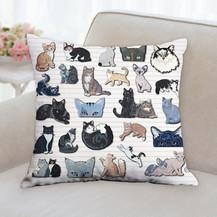 All Cats Pillow