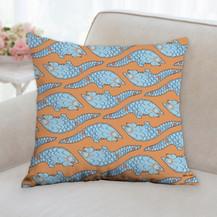 Pangolin Pattern Pillow