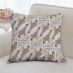 Giraffe Pattern Pillow