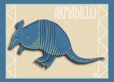 Armadillo Note Card