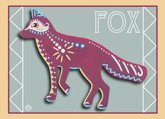 Fox Note Card