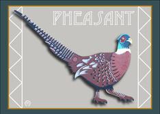 Pheasant Note Card