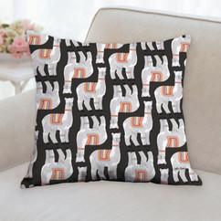 Llama Pattern Pillow