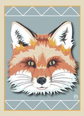 Red Fox Face Note Card 2.jpg