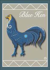 Blue Hen Note Card