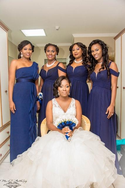 Navy Bridesmaids!