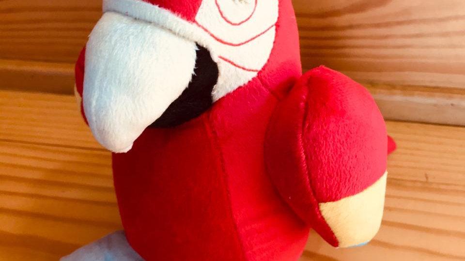 Pelúcia Arara-vermelha