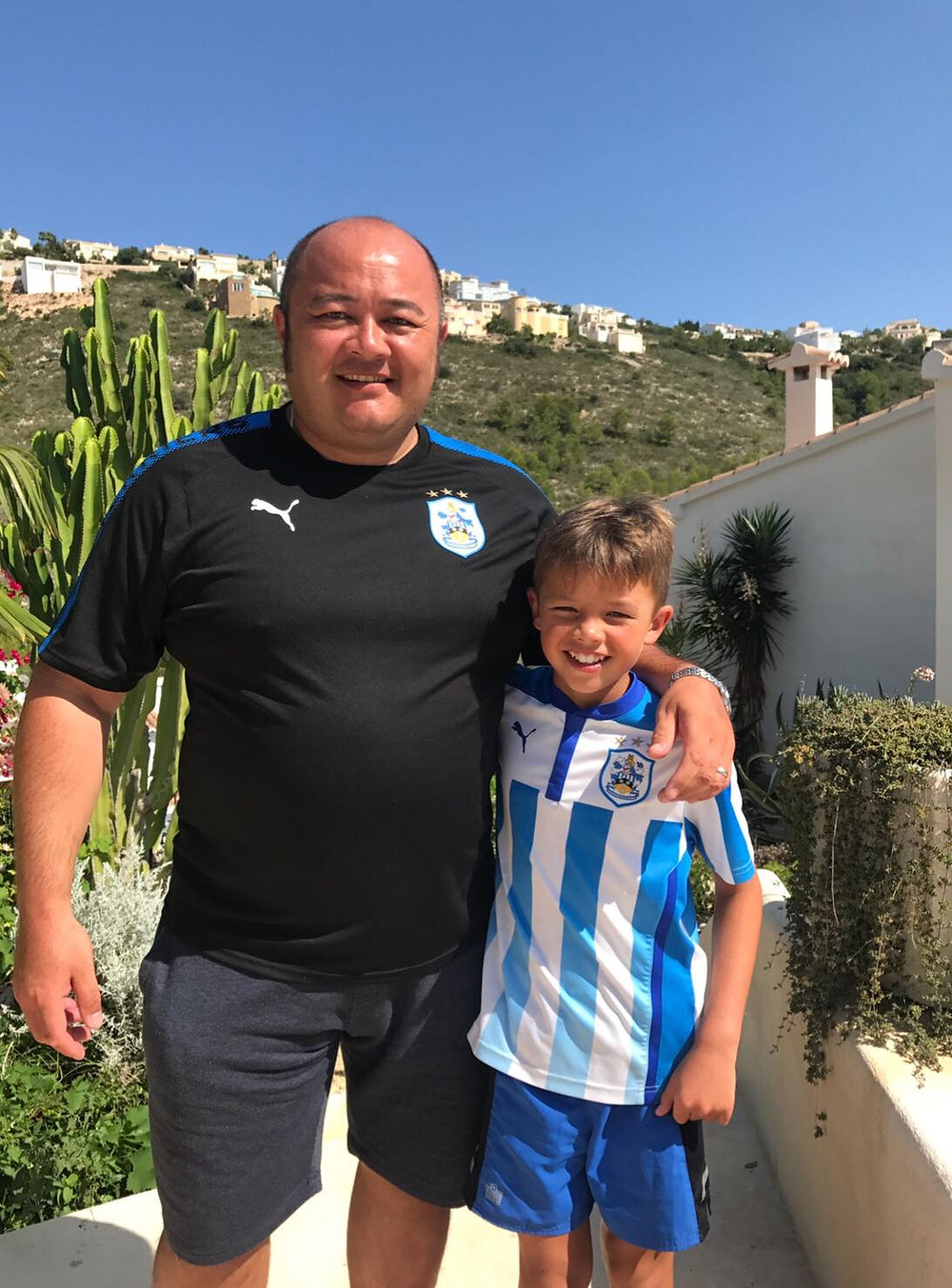 Simon & his son Charlie
