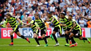 Huddersfield town play-offs
