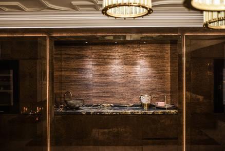 Residential entertainment space- Bar