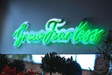 Grow fearless