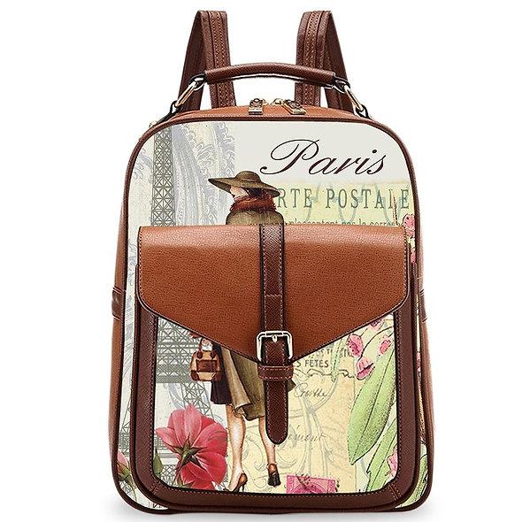 OH Fashion Handbag Backpack European Dream Lady