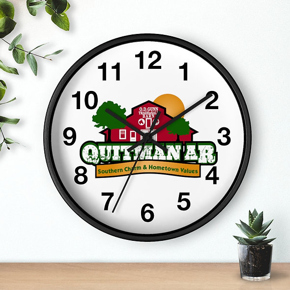 Quitman AR Wall Clock